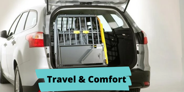 easy spaniel training travel and comfort