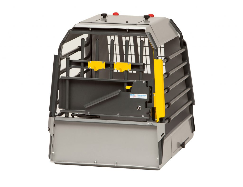 MIM VARIOCAGE COMPACT - CRASH-TESTED DOG TRAVEL CRATE FOR CARS & SUVS