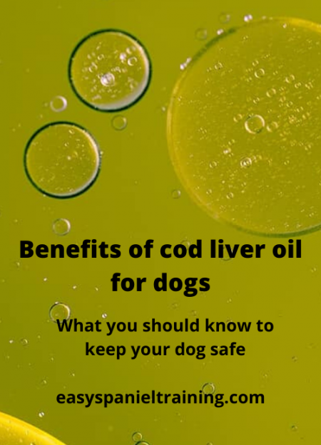 benefits of cod liver oil for dogs