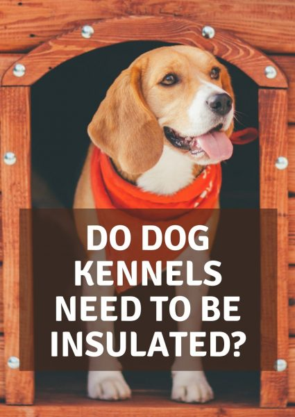 do dog kennels need to be insulated